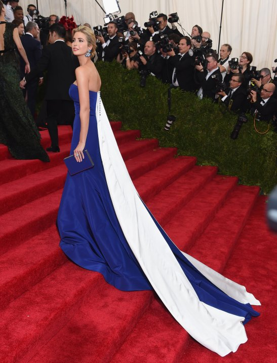 Ivanka Trump in Prabal Gurung